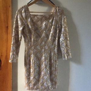 Marciano sequin cocktail dress